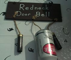 Redneck Door Bell