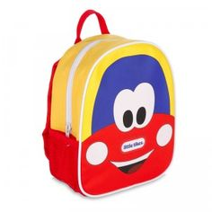 The Little Tikes Cozy Coupe Harness Backpack is a cute backpack with a long, removable strap that helps keep your child safe and close when you're out and about.