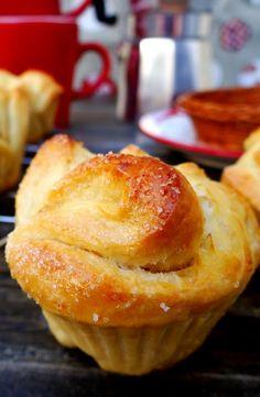 Muffins de pan dulce