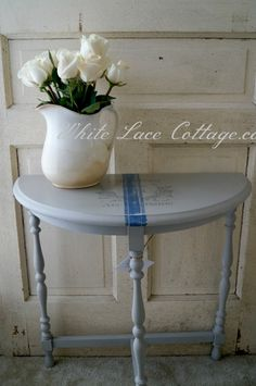 French Grain Sack Table