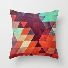 Geometric Abstraction Pillow