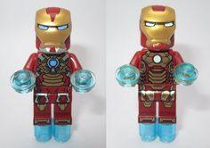 Super Cute! LEGO Iron Man 3 Minifigures