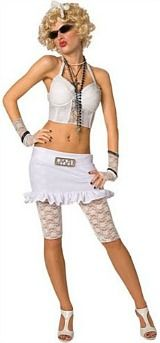 Look like Madonna - 80s Bad Girl costume