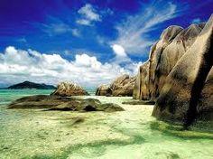 Seychelles Islands in the Indian Ocean