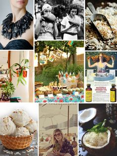 Mood Board Monday: Coconuts (http://blog.hgtv.com/design/2014/08/25/mood-board-monday-coconuts/?soc=pinterest)