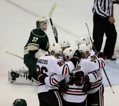 Game 4 - Chicago Blackhawks at Minnesota Wild - May 7, 2013