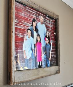 Decorating with Portraits at The Creative Crate » Kristen Duke Photography love this!