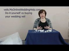 Buy or make your veil? Video with considerations.