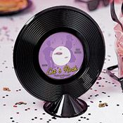50's Theme - Cheap and easy prop, using old records.