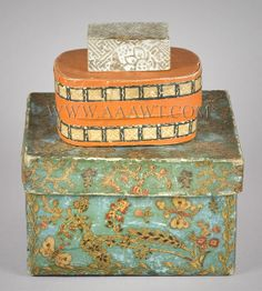 Wallpaper Boxes, 19th Century