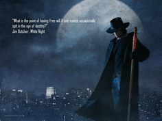 Great Dresden files quote