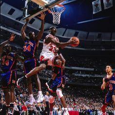 Michael Jordan - 1996 NBA Eastern Conference Semifinals, Game 5: New York Knicks vs. Chicago Bulls