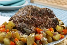 Grilled and Braised Pot Roast