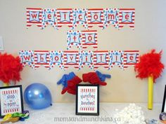 Dr. Seuss Birthday Party Ideas: food, decorations, games and more! #KidsParties