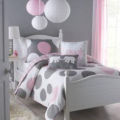 lantern, little girls, color schemes, comforter sets, big girl rooms, little girl rooms, big girls, dot, bedroom