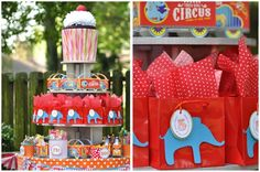 Circus theme? Adorable!