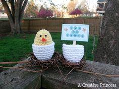 Crocheted Chicken