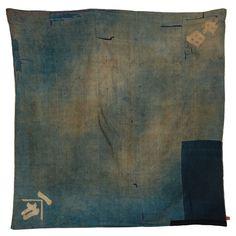 Japanese. Indigo dyed quilt.19th century.