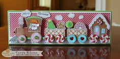 Christmas Train Decor - Peachy Keen Stamps