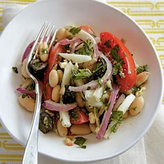 Fresh Mediterranean Salad | MyRecipes.com #myplate #vegetable
