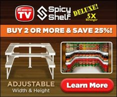 """Spicy Shelf Deluxe"