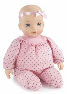 """Zapf Baby Born Love To Tumble by ZAPF. $10.91. 10? baby doll. Adorable soft-bodied doll with vinyl head and hands. Performs somersaults when placed sitting upright. From the Manufacturer                Little girls want to take care of BABY born Love to Tumble , an adorable soft and cuddly 10"""" baby doll that can somersault over and over again.                                    Product Description                Baby Born Love to Tumble 12"""" baby doll Adorable..."""