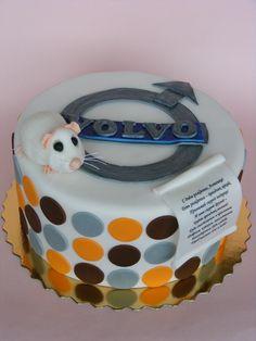 a Volvo cake!