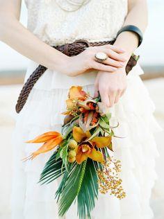 Exotic bridal bouquet | Max Koliberdin Photography