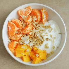 Fruit & yogurt ...