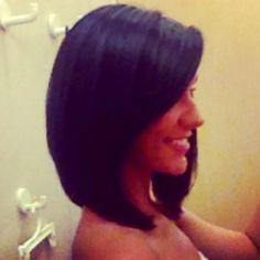 My new cut :) #lob #long #bob #shoulder #length