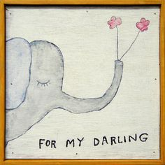 for my darling print