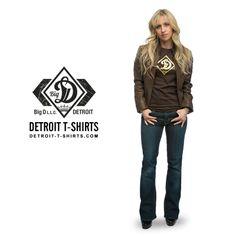 Ladies detroit t shirts on pinterest t shirts salons for 6 salon royal oak