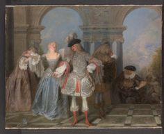 Jean-Antoine Watteau, The French Comedians
