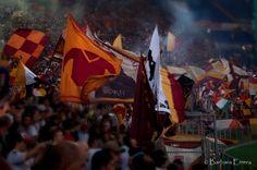dalla Curva Sud | AS Roma vs Catania (26 Agosto 2012)    photographer: Barbara Errera
