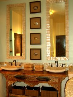 20 Upcycled and One-of-a-Kind Bathroom Vanities : Home Improvement : DIY Network