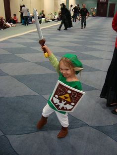 The Littlest Link: volton girl should party with her