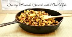 Recipe: Savory Brussels Sprouts with Pine Nuts