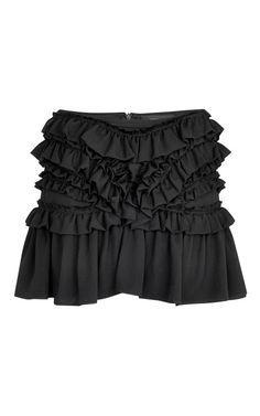 Shop Black Hilda Skirt by Isabel Marant for Preorder on Moda Operandi