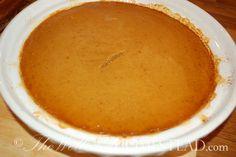 GAPS Legal Pumpkin pie