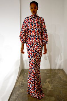 NY - Duro Olowu #ItsAllAboutAfricanFashion #AfricaFashionLongDress #AfricanPrints #kente #ankara #AfricanStyle #AfricanFashion #AfricanInspired #StyleAfrica #AfricanBeauty #AfricaInFashion