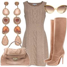 Set - Dresses - Brown