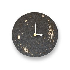 for the PERSON WHO ALREADY HAS EVERYTHING: bet they don't have a felt & birch full moon clock from Decoylab $74