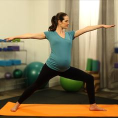 Prenatal Workout-Fitsugar has tons of workouts for beginners to advanced, and prenatal!