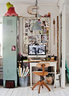15 Home Offices That Will Keep Your Creativity Flowing via Brit + Co.