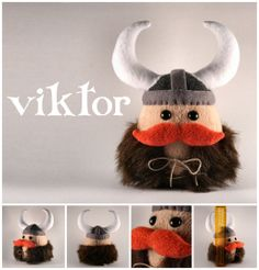 Viktor the Viking Plushie by ~Saint-Angel on deviantART