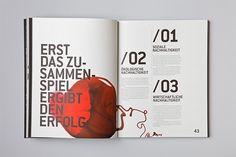 Gutenberg Printers Annual Report by MOOI Design