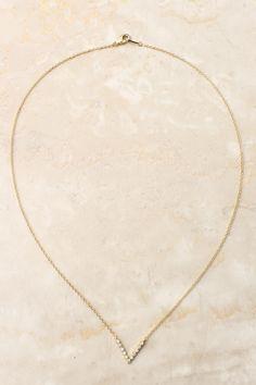 Gold Chloe Necklace   Emma Stine Jewelry