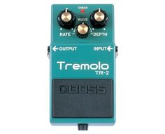 This Boss tremolo pedal is good in that, whatever you do with it, it JUST WORKS. If it had a BPM tempo setting, it would make others useless!