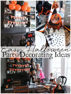 Halloween Party Decorating Ideas - Seriously, this party could not have easier to pull together and quick to clean up thanks to these great products.