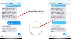 How to view timestamps for individual texts and iMessages in iOS 7 | iMore